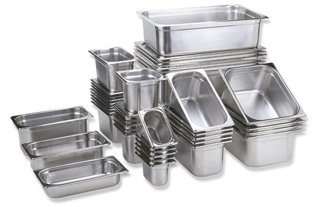 STAINLESS STEEL GN-CONTAINER/GN-LID