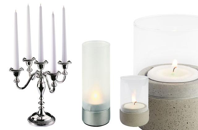 CANDLE HOLDERS & WIND LIGHTS
