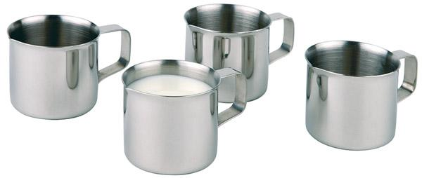milk/cream jugs, 4 pcs. set