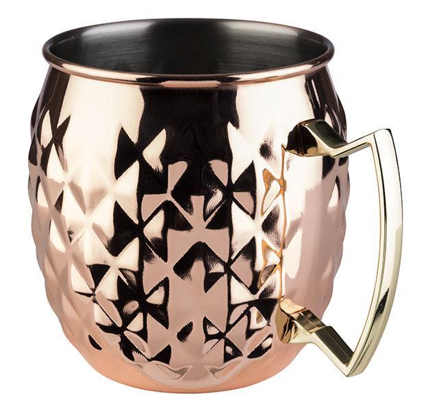barrel copper mug