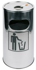litter bin / ashtray