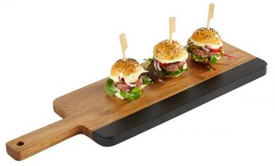 "serving board ""AKAZIE SCHIEFER"" 40,5 x 13 x 1,5 cm"