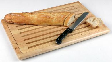 "cutting board ""RUBBERWOOD"" 48 x 32 x 2,5 cm"