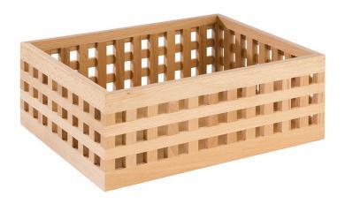 "wooden box ""BROTSTATION"" 34 x 26 x 12,5 cm"