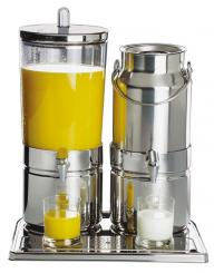 juice and milk dispenser