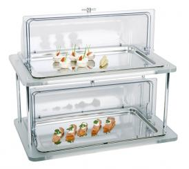 cooling buffet display