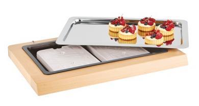 refrigerated buffet display