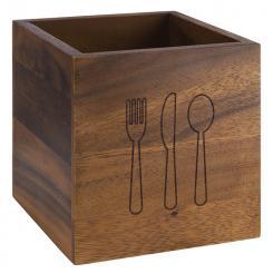 "cutlery bin ""ACACIA"""