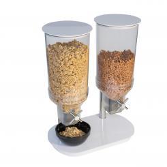 cereal dispenser white