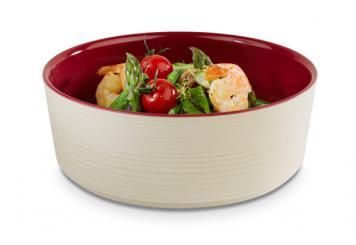 bowl, round
