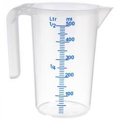 measuring cup 0,5 l