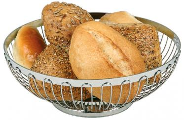basket for bread or fruits 18 x 18 x 7 cm