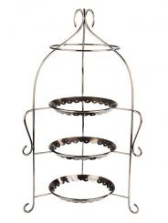 "serving stand ""ROMANTIC"" 30 x 30 x 54 cm"
