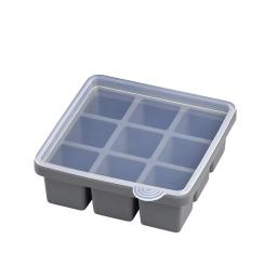 ice cube maker with lid, 2 pcs.
