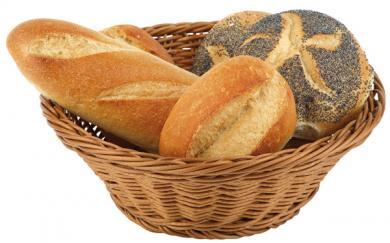 "buffet basket, round ""ECONOMIC"" 19 x 19 x 9,5 cm"