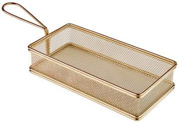 "stainless steel fry baskets ""SNACKHOLDER"" 21,5 x 10,5 x 4,5 cm"