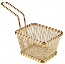 stainless steel fry baskets 10 x 9,5 x 6,5 cm