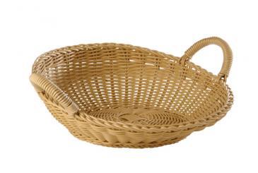 basket, round 36,5 x 36,5 x 12 cm