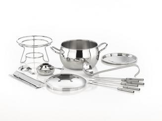 """fondue set and punch bowl """"TWO IN ONE"""""""