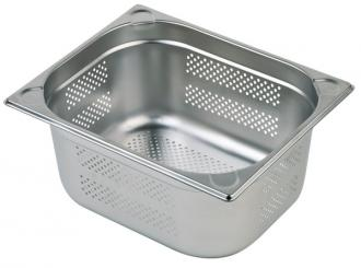 perforated GN-container 32,5 x 35,5 x 6,5 cm