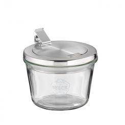 2 Weck-glasses with lid