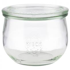 Weck glasses with lid, 6 pcs.