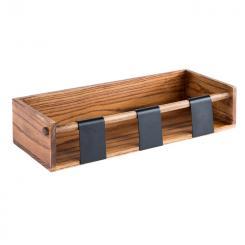 wooden station for 3 dressing pots