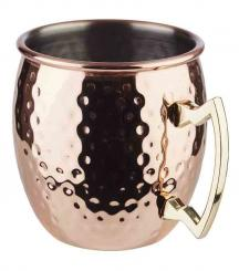 barrel copper mug