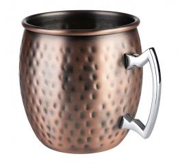 barrel copper mug, 2 pcs. set